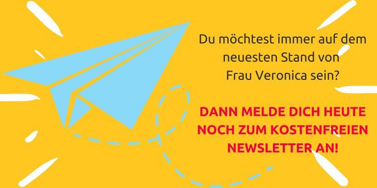 Newsletter Banner Frau Veronica
